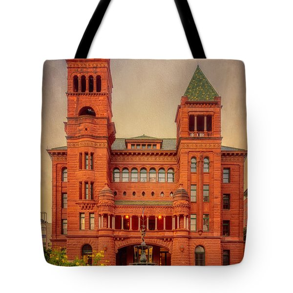 Bexar County Courthouse Tote Bag