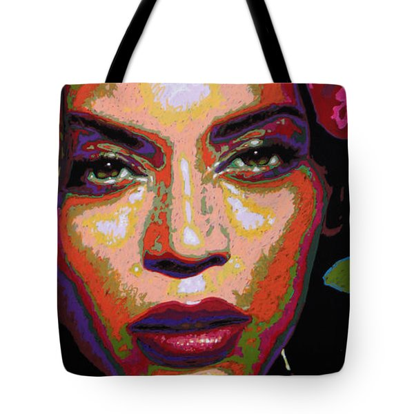Beyonce Tote Bag by Maria Arango