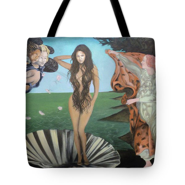 Beyonce - The Birth Of Venus Tote Bag