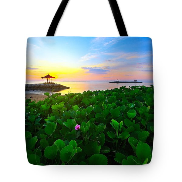 Tote Bag featuring the photograph Beyond Beauty  by Kadek Susanto