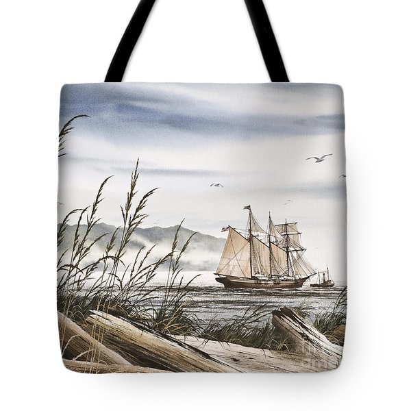 Beyond Driftwood Shores Tote Bag by James Williamson
