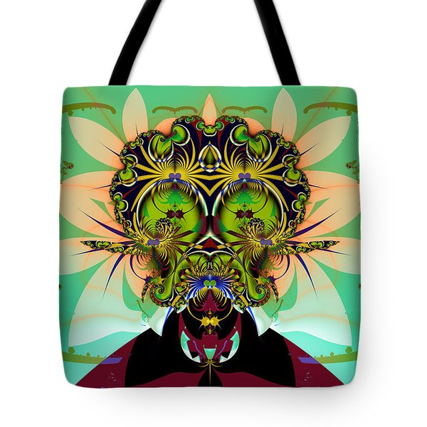 Ackrack - Interplanetary Tote Bag by Jim Pavelle