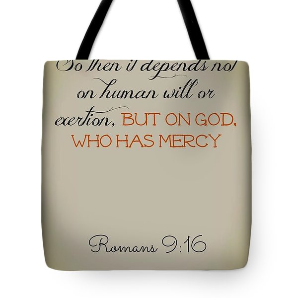 Beyond Our Imperfection Tote Bag