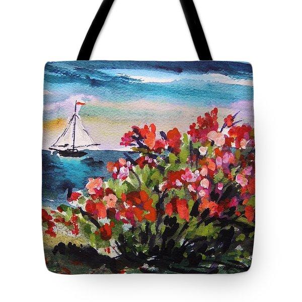 Beyond Sea Roses Tote Bag