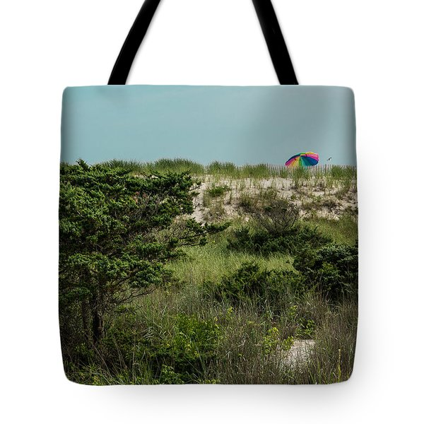 Tote Bag featuring the photograph Beyond The Beach  by Jose Oquendo