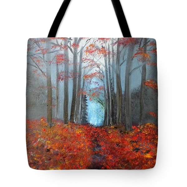 Beyond The Blue Tote Bag