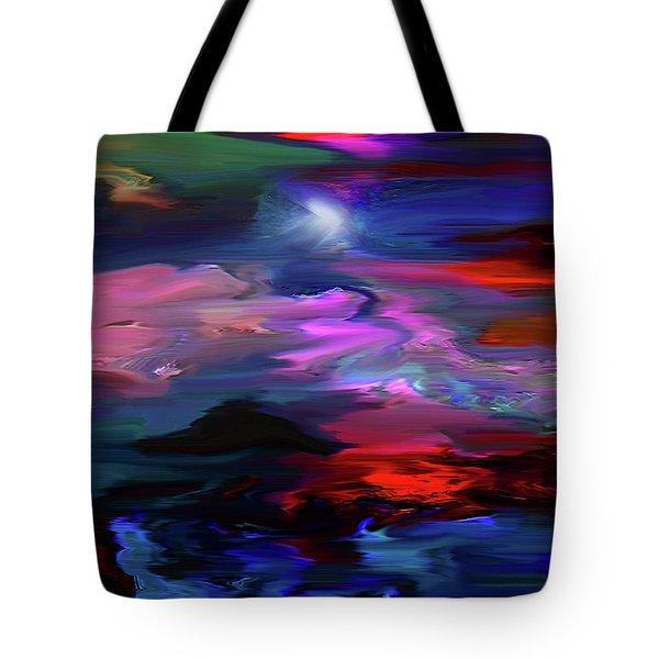 Beyond The Blue Horizon Tote Bag
