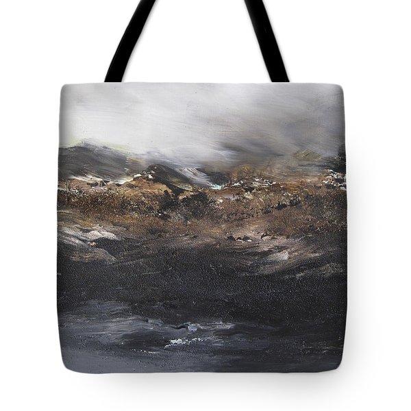 Beyond The Cliffs Tote Bag