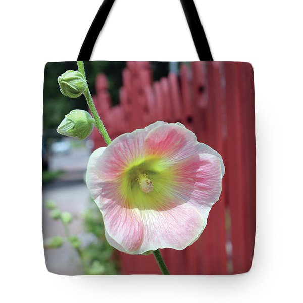 Beyond The Garden Fence Tote Bag