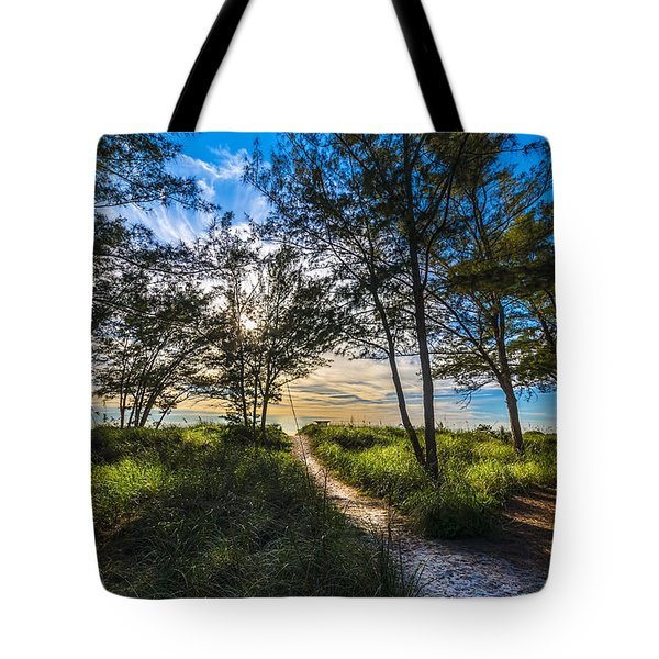 Beyond The Green Grass Tote Bag