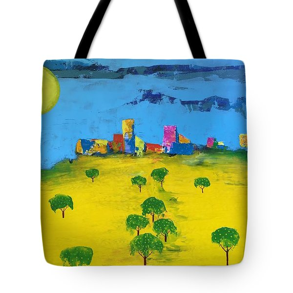 Beyond The Lemon Grove Tote Bag