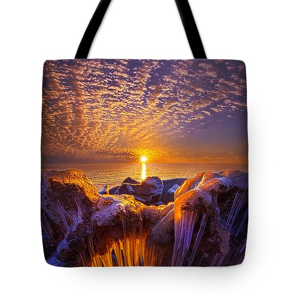 Beyond The Limits Tote Bag