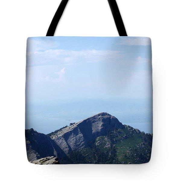 Beyond The Mountains Tote Bag