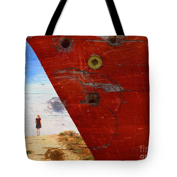 Beyond The Sky Tote Bag by Tara Turner