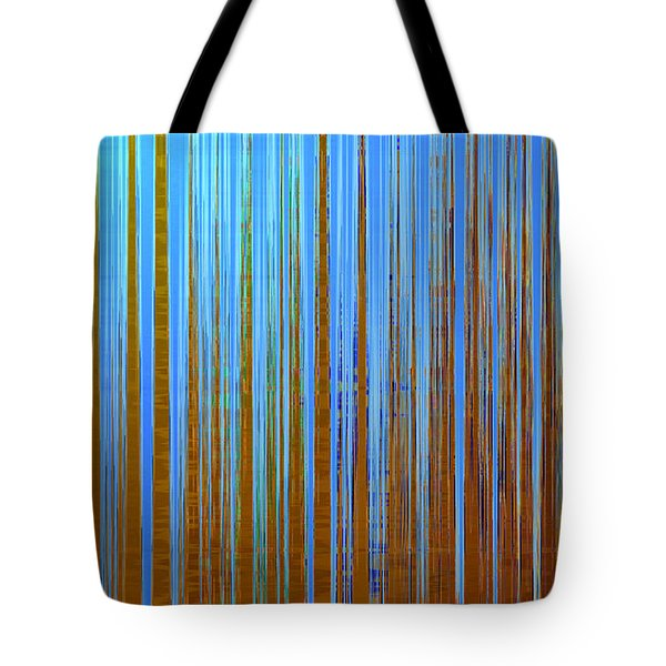 Tote Bag featuring the digital art Beyond The Veil  by Gina Harrison