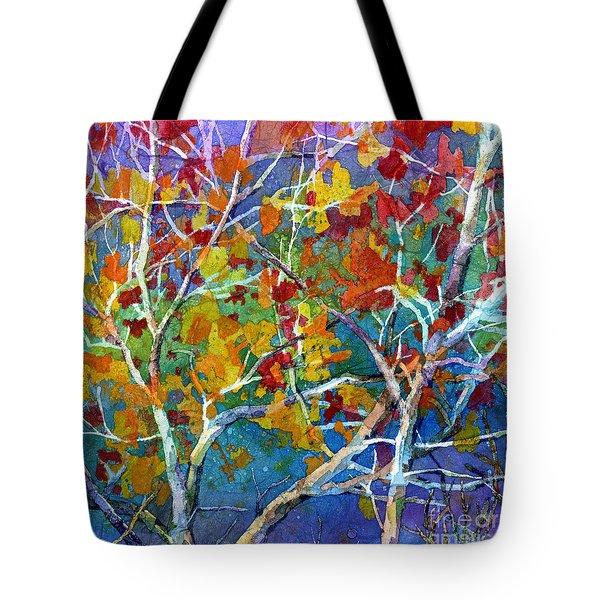 Beyond The Woods - Orange Tote Bag
