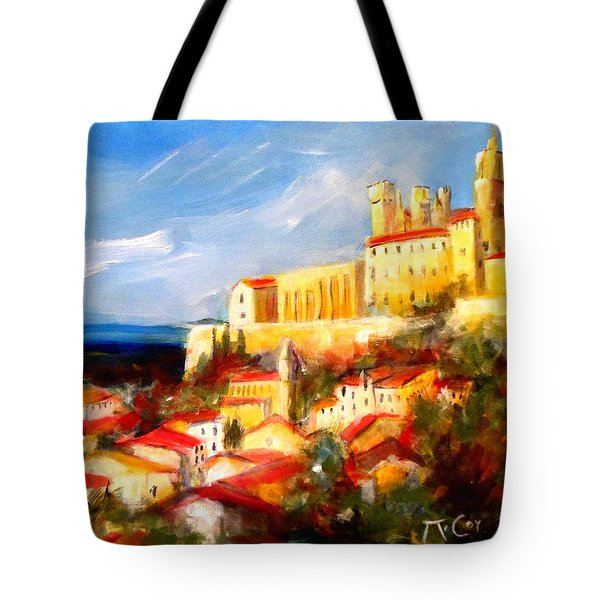 Beziers Tote Bag by K McCoy