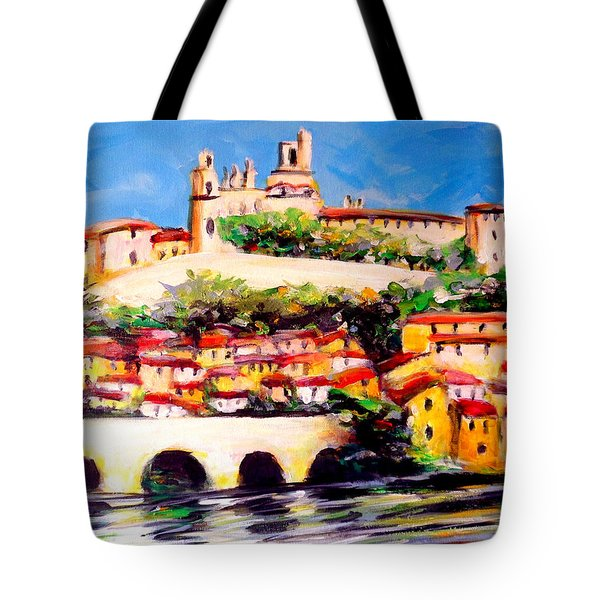 Beziers Reflections Tote Bag