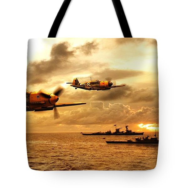 Bf 109 German Ww2 Tote Bag