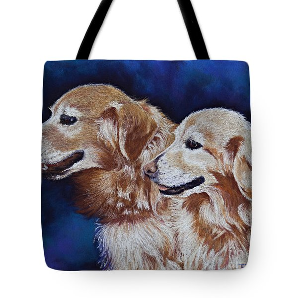 Bff Best Friends Forever Tote Bag by Tracy L Teeter