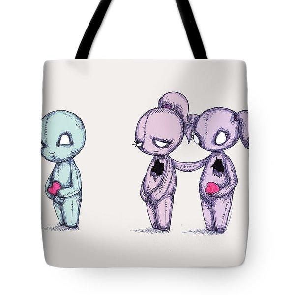 Bff Plushies Tote Bag