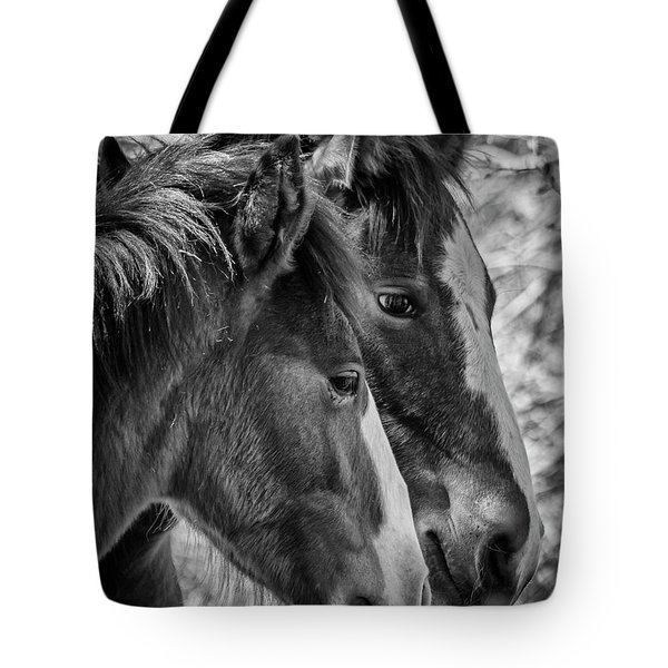 Tote Bag featuring the photograph Bffs by Teresa Wilson