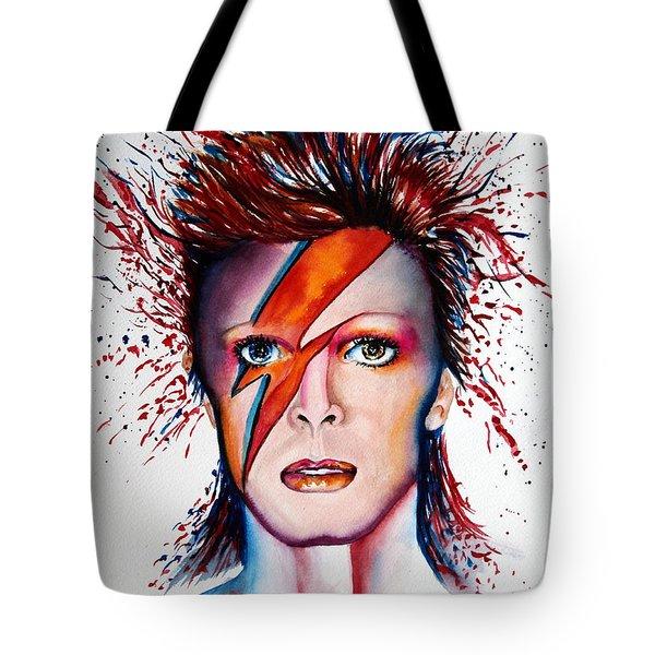 Bi Bi Bowie Tote Bag