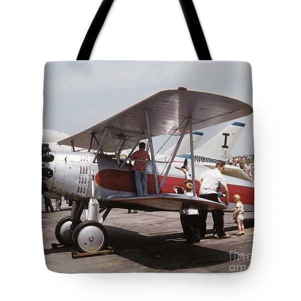 Tote Bag featuring the photograph Bi-wing-3 by Donald Paczynski