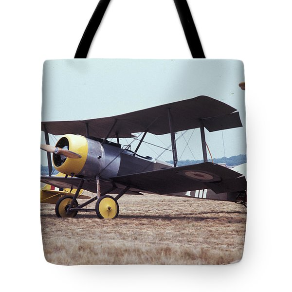 Tote Bag featuring the photograph Bi-wing-4 by Donald Paczynski