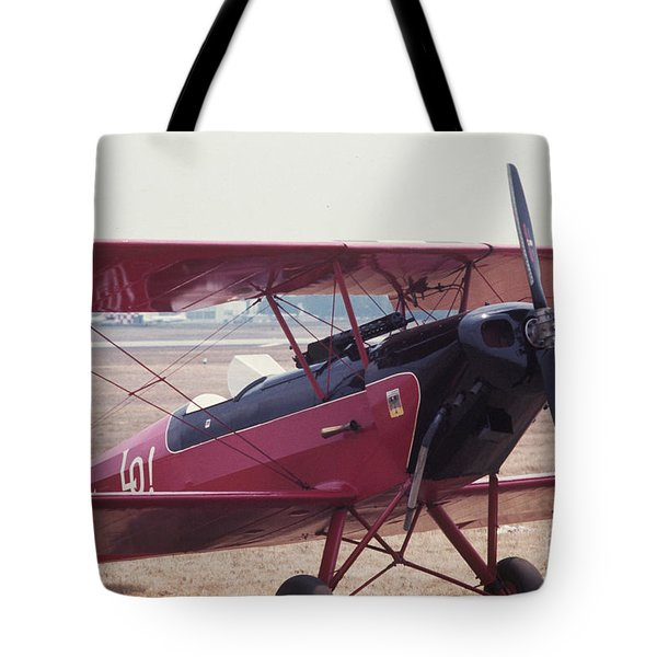 Tote Bag featuring the photograph Bi-wing-5 by Donald Paczynski