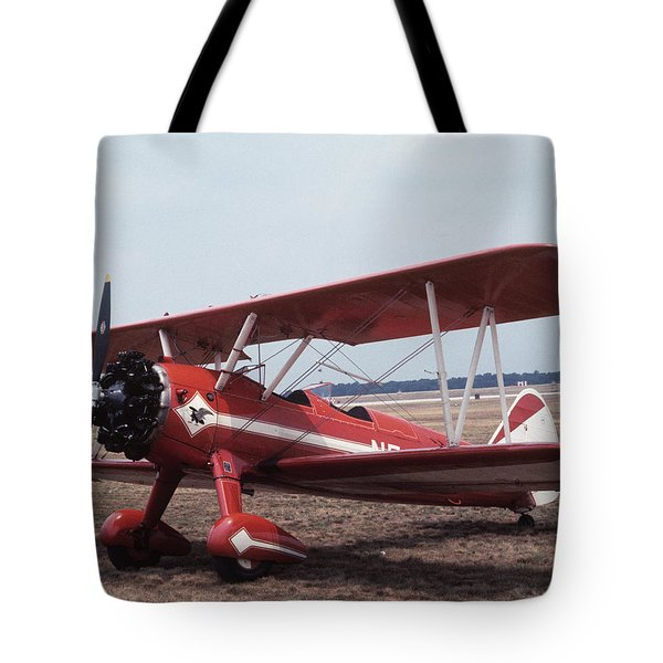 Tote Bag featuring the photograph Bi-wing-6 by Donald Paczynski
