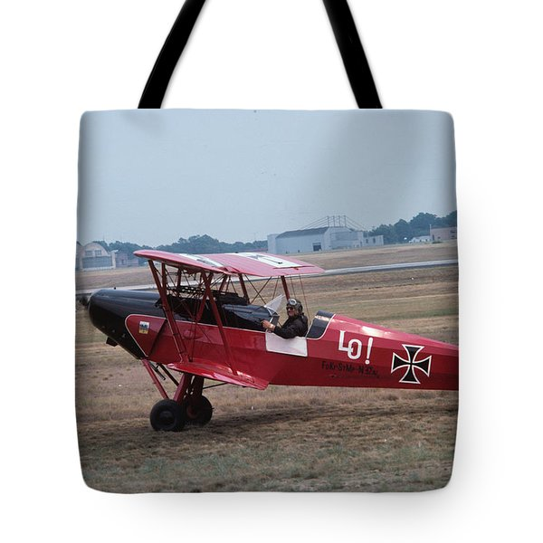 Tote Bag featuring the photograph Bi-wing-7 by Donald Paczynski