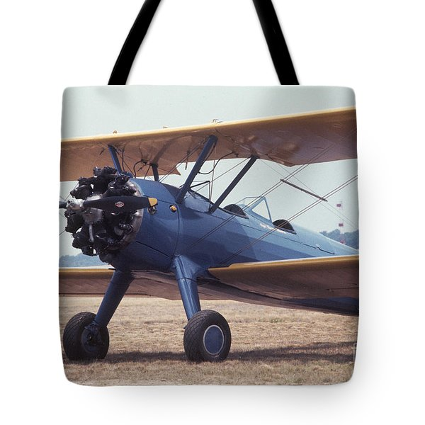 Tote Bag featuring the photograph Bi-wing-8 by Donald Paczynski