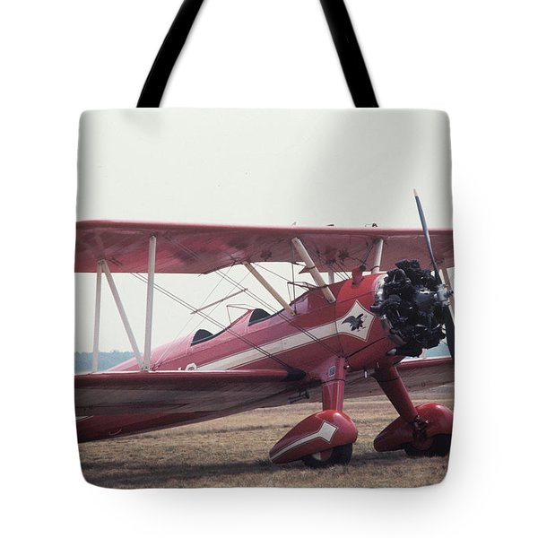 Tote Bag featuring the photograph Bi-wing-9 by Donald Paczynski