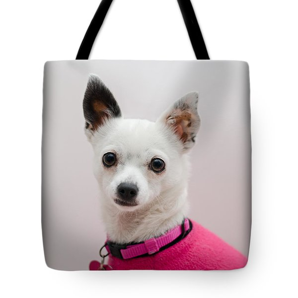 Tote Bag featuring the photograph Bianca by Irina ArchAngelSkaya
