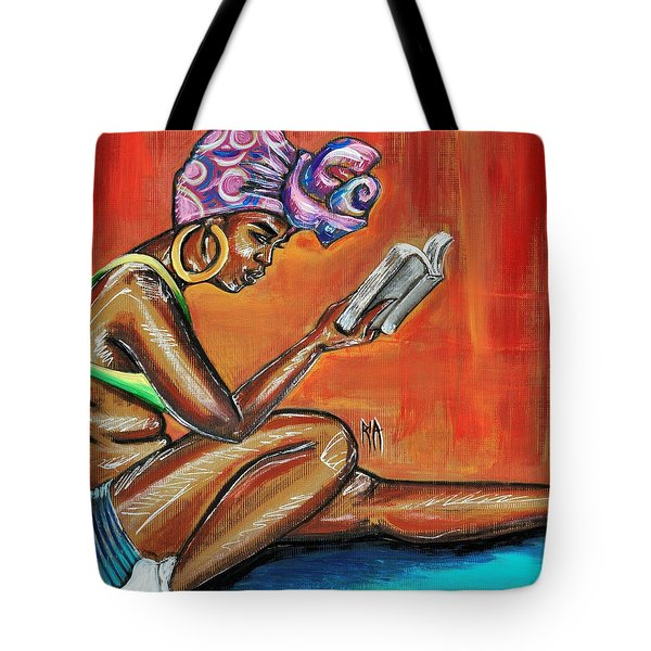 Bible Reading Tote Bag