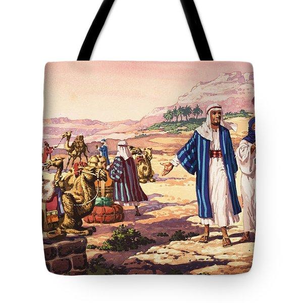 Biblical Landscape Tote Bag