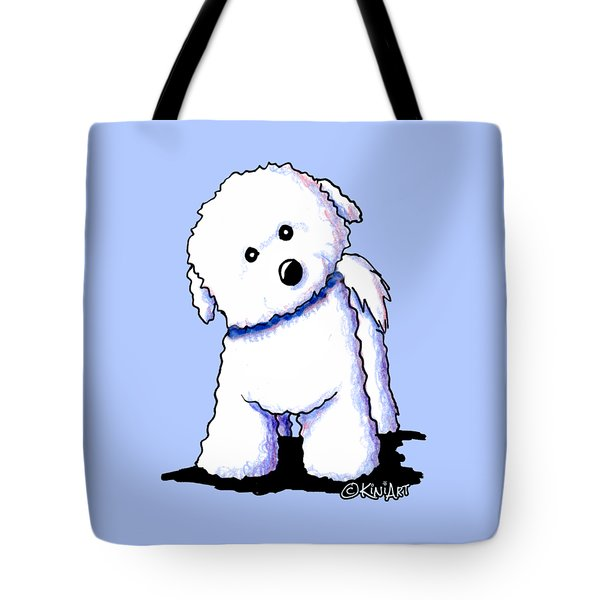 Bichon Boy Tote Bag