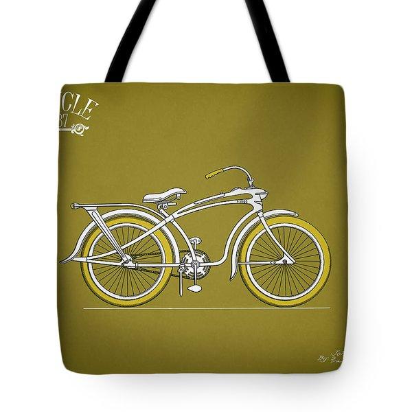 Bicycle 1937 Tote Bag