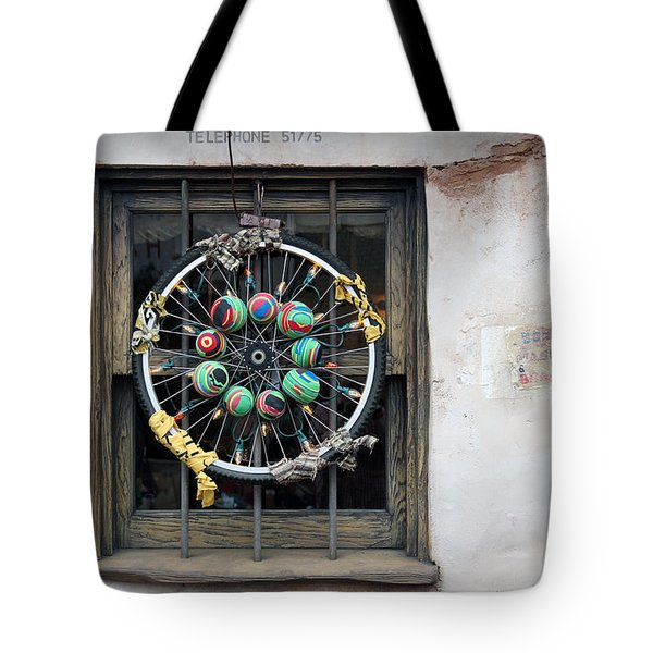 Bicycle Art Tote Bag