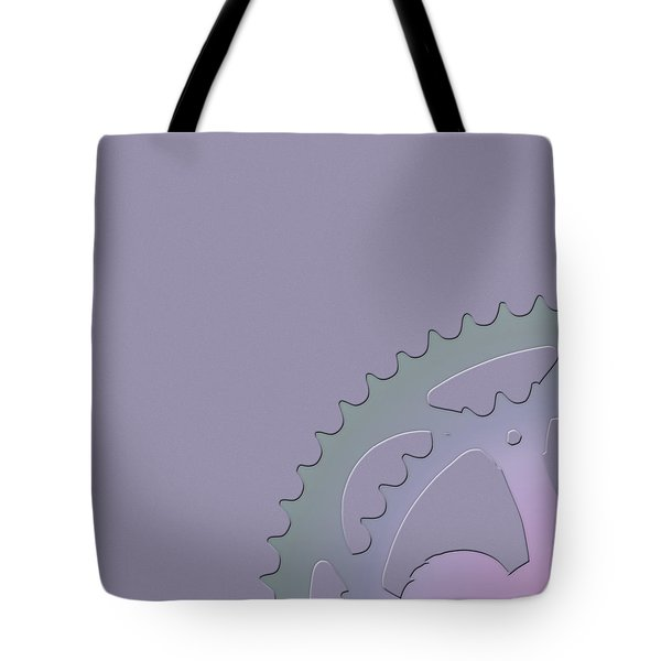Bicycle Chain Ring - 1 Of 4 Tote Bag