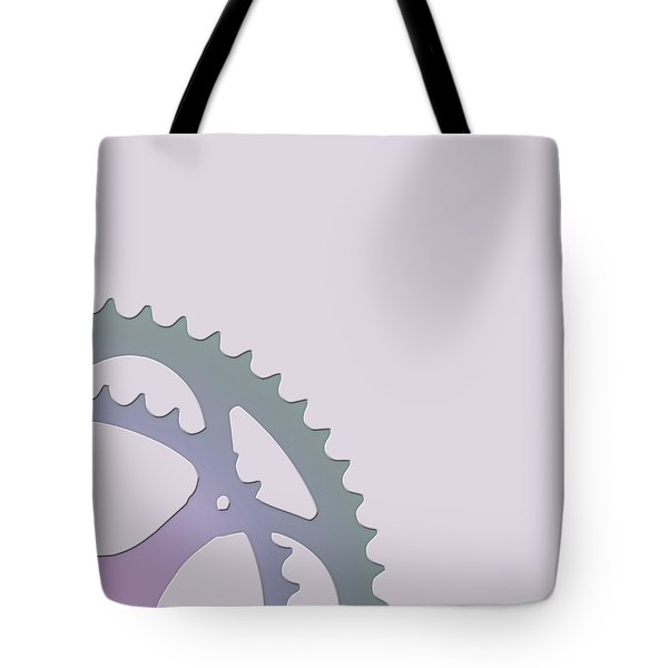Bicycle Chain Ring - 2 Of 4 Tote Bag