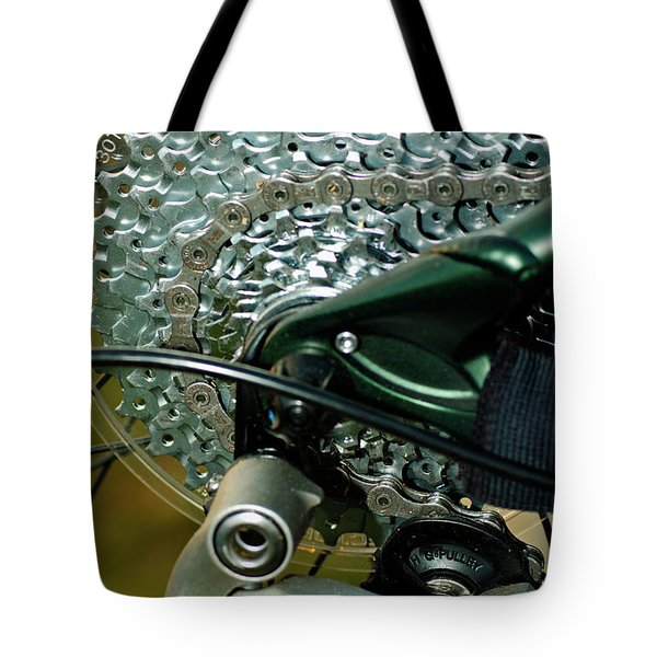 Bicycle Cog Wheel And Gears 2 Tote Bag