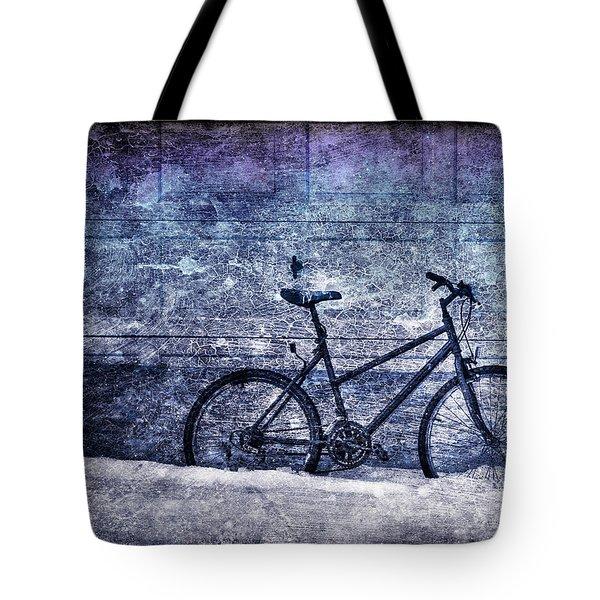 Bicycle Tote Bag by Evelina Kremsdorf