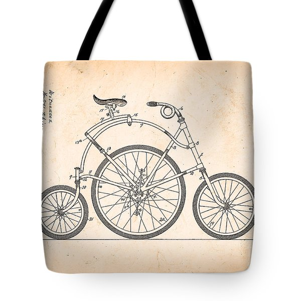Bicycle From 1899 Tote Bag