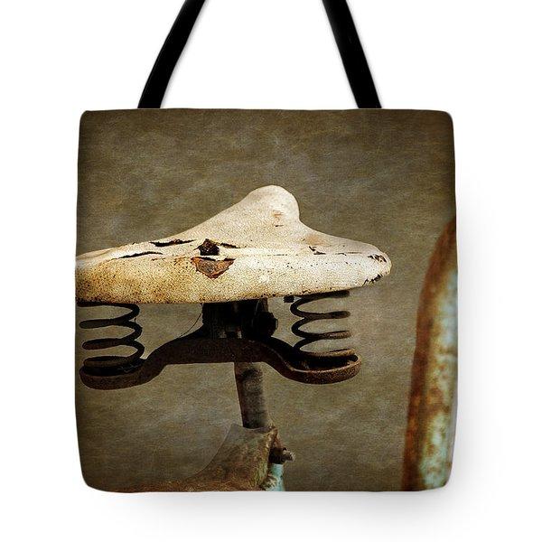 Bicycle Seat Tote Bag