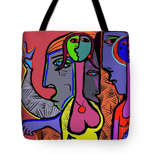 Bidding Tote Bag by Hans Magden
