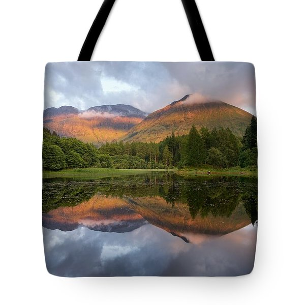Bidean Nam Bian At Sunset Tote Bag