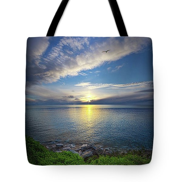 Biding Time Tote Bag
