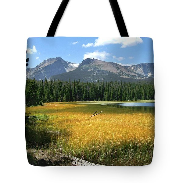 Autumn At Bierstadt Lake Tote Bag